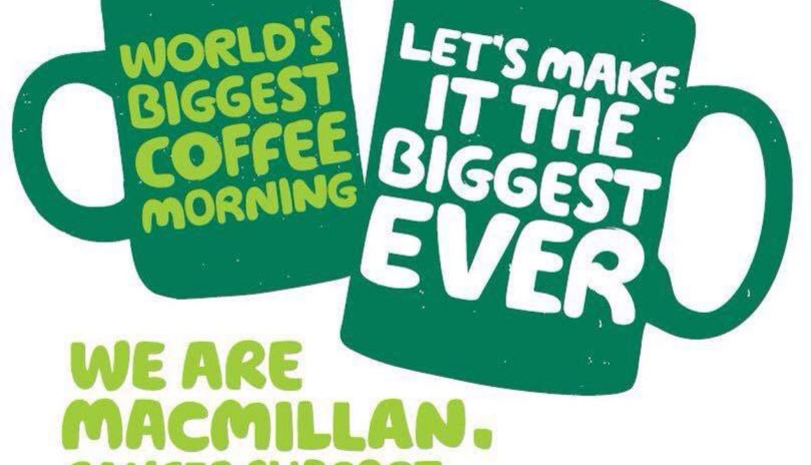 Macmillan coffee morning 2015