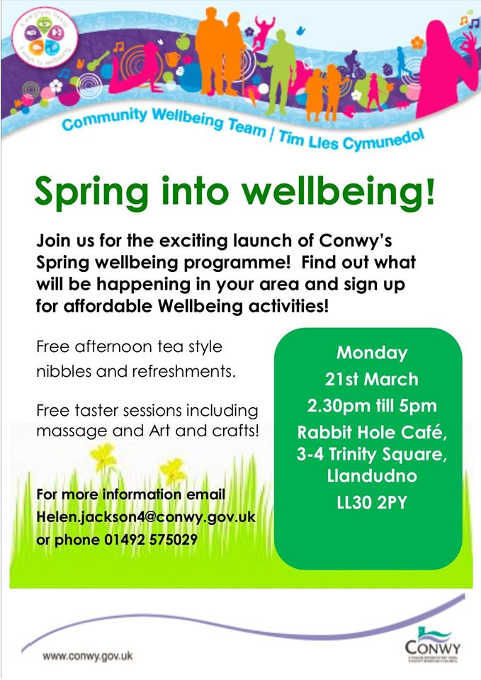 spring into wellbeing