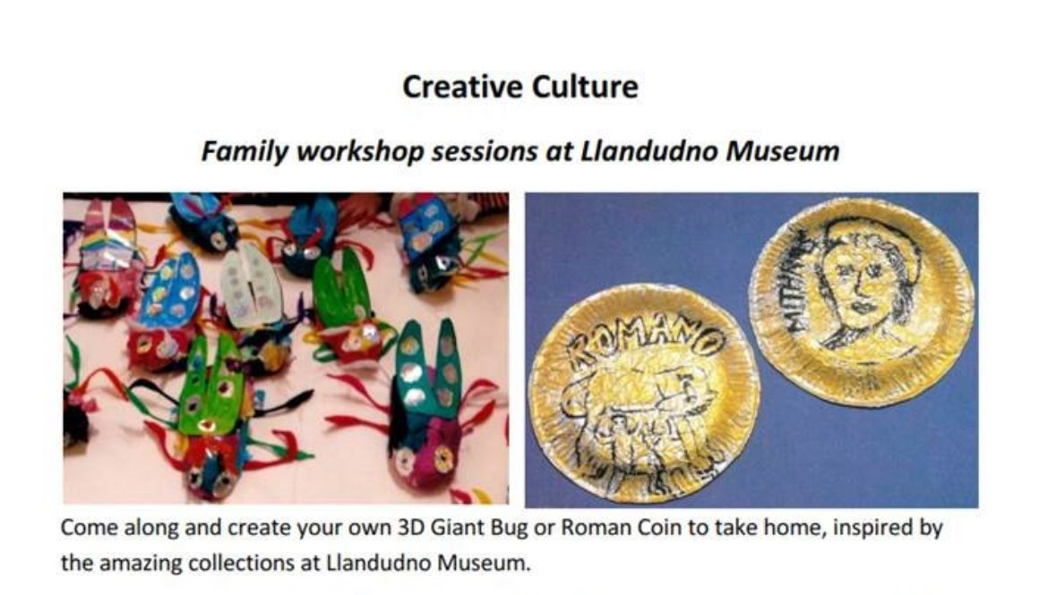 Image for family workshops in museum
