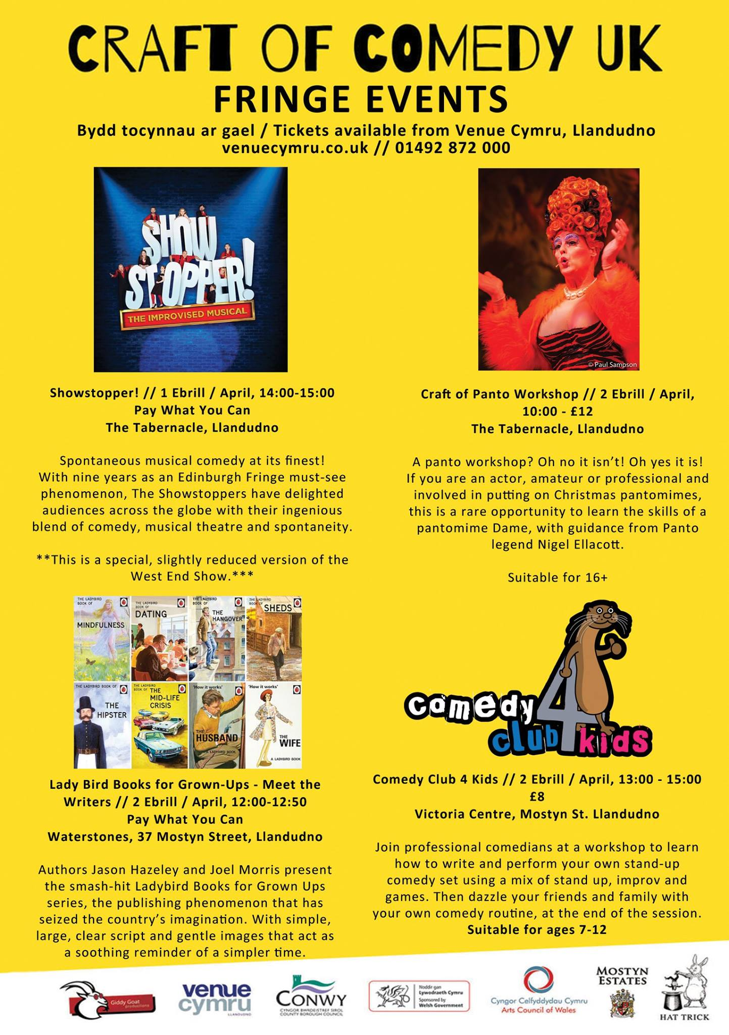 Whats On This Weekend Friday 31st Sunday 2nd Tvconwy