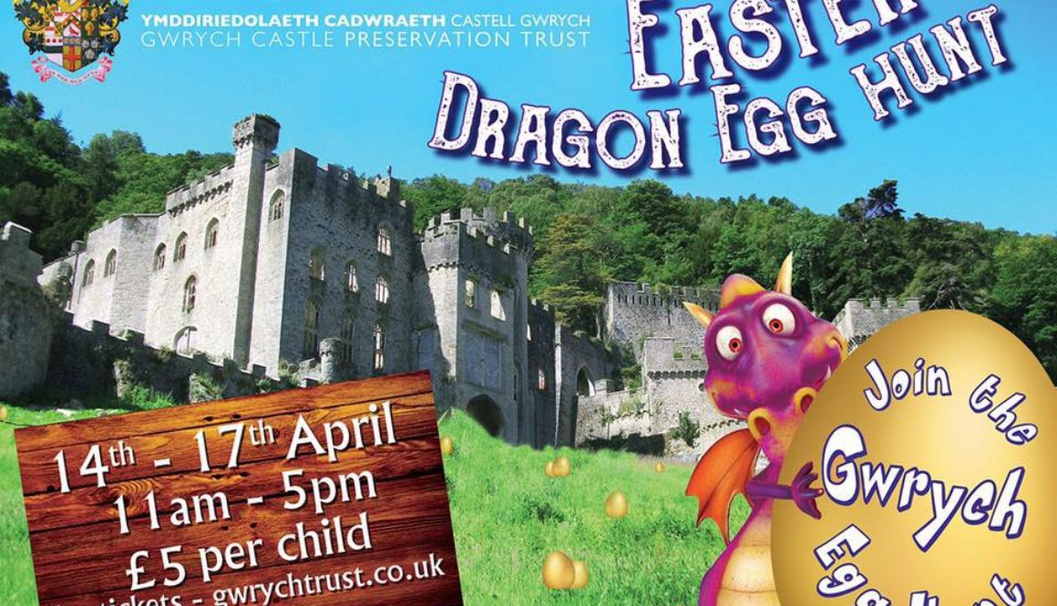 Gwrych castle easter egg hunt