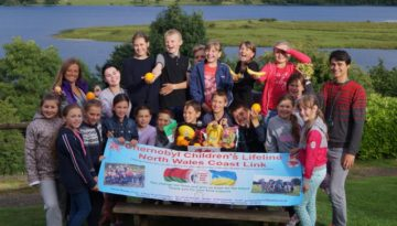 Chernobyl children from an earlier year