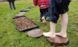 mud week at Plas Newydd