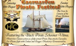 August 18th and 19th - Caernarvon Pirates