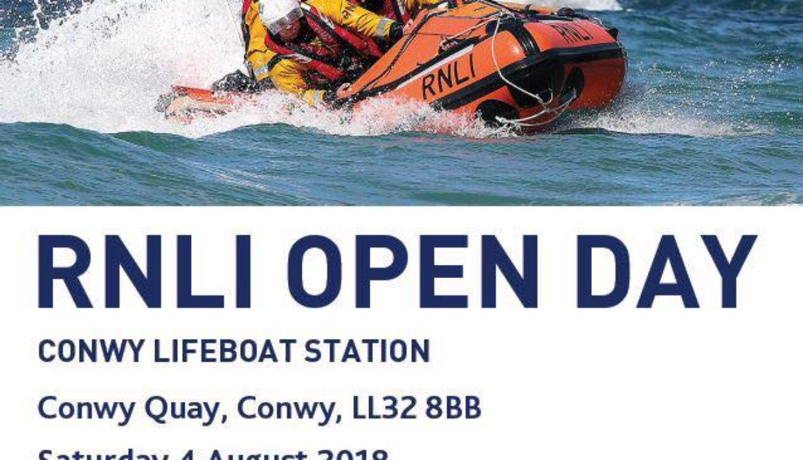 August 4th - RNLI conwy