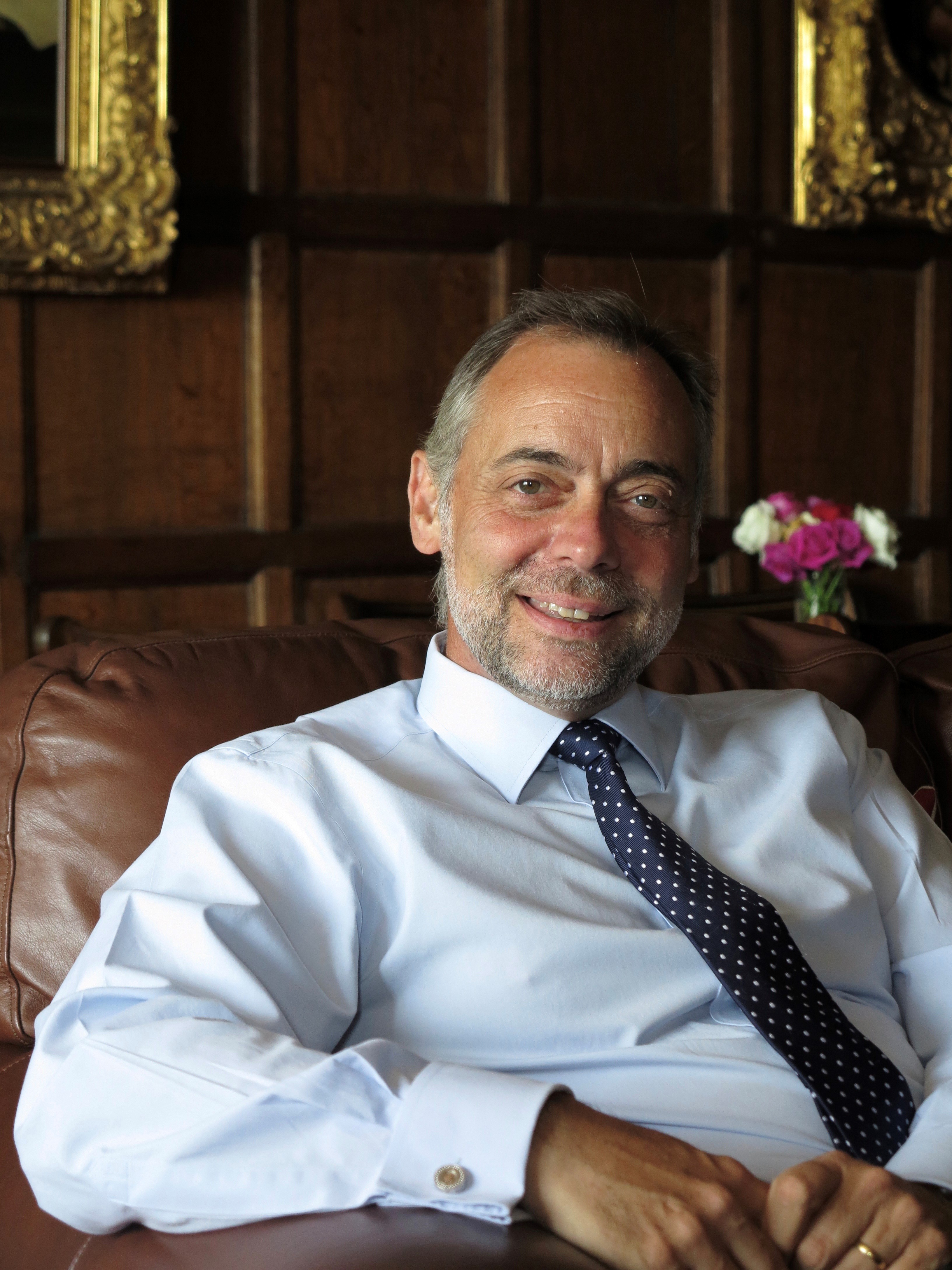 Headmaster Andrew Russell of St Davids College