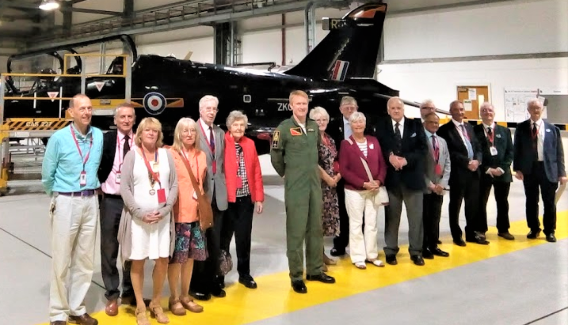 RAF Valley Group in hangar - 1