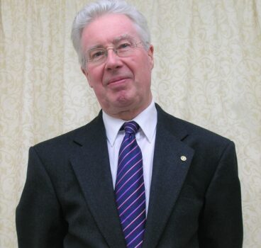 Rotary mourns the loss of Mike Clutton